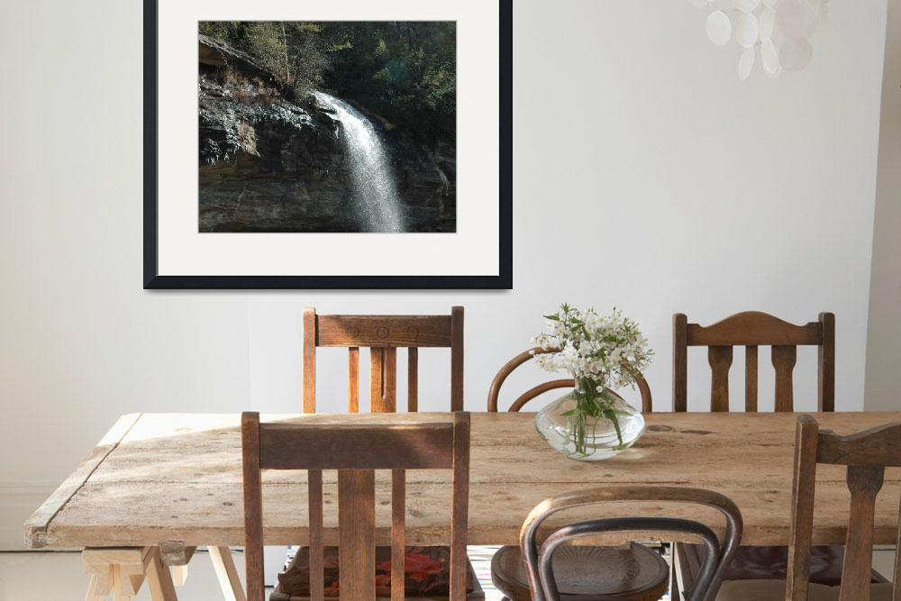 """""""Georgia Waterfall&quot  by LHenryImages"""