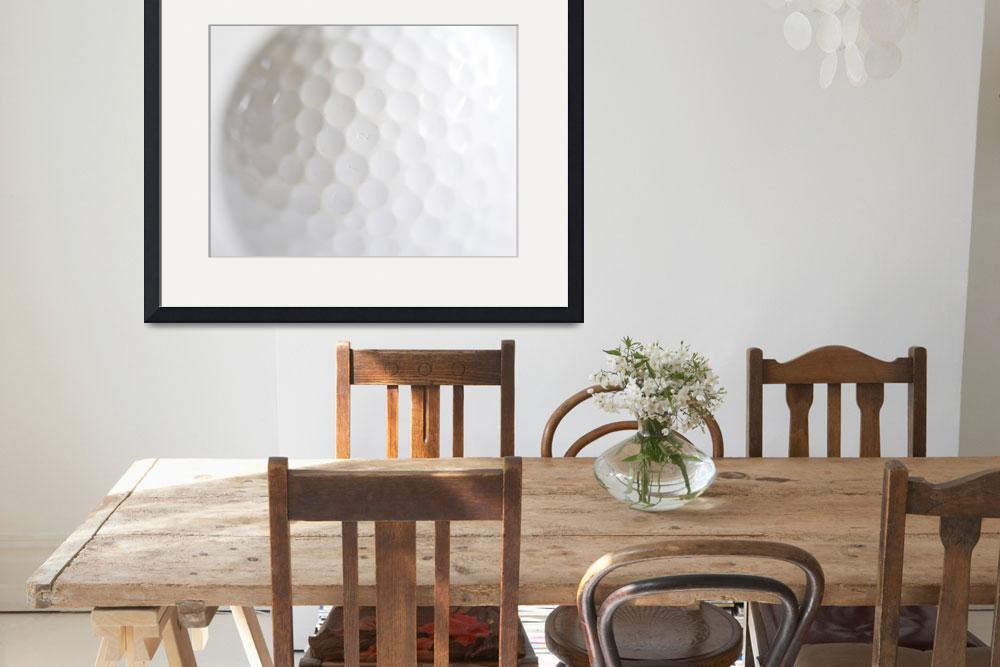 """""""Golf Ball&quot  (2010) by ImageArt-Photography"""