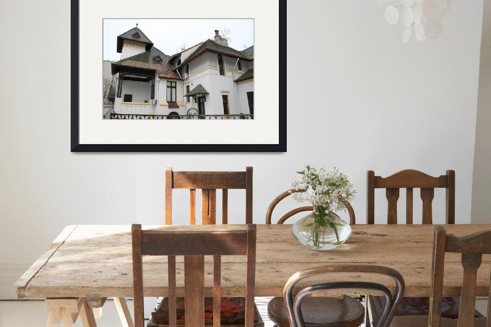 """Traditional Romanian house&quot  (2010) by easyfigure"