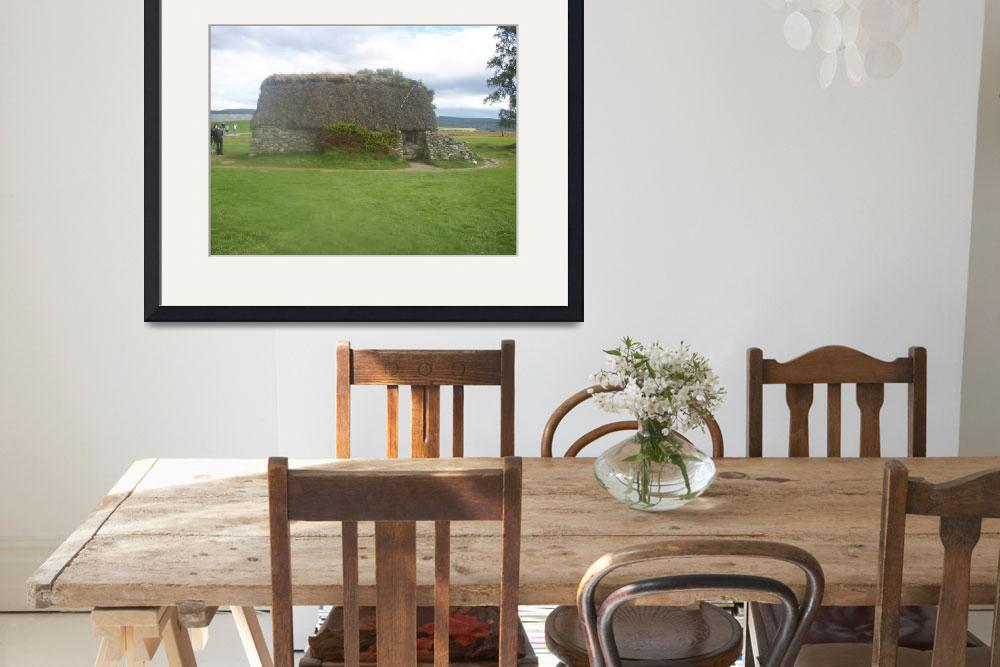 """""""Leanach Cottage Culloden Moor&quot  (2009) by Samme"""