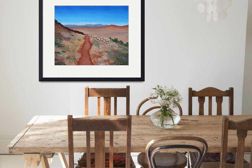 """""""ROAD TO NOWHERE (Australian Outback)&quot  (2007) by RoseLangfordPrints"""