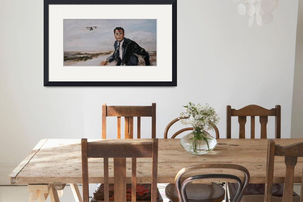 """""""Cary Grant Hitchcock North by Northwest Movie&quot  (2016) by GinetteCallaway"""