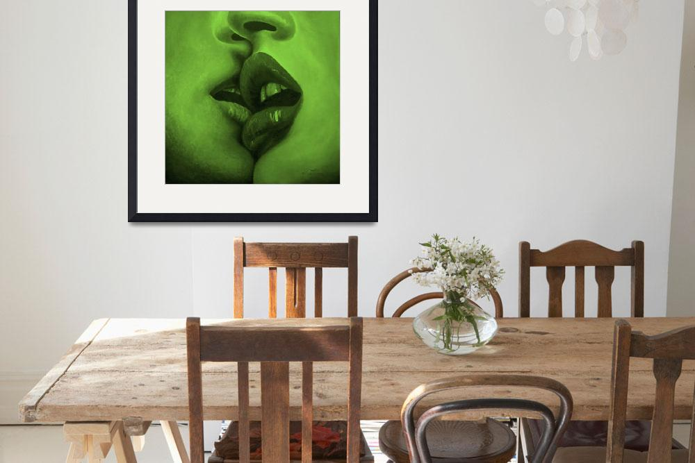 """Kiss Green Mood""  (2009) by MuseInLove"