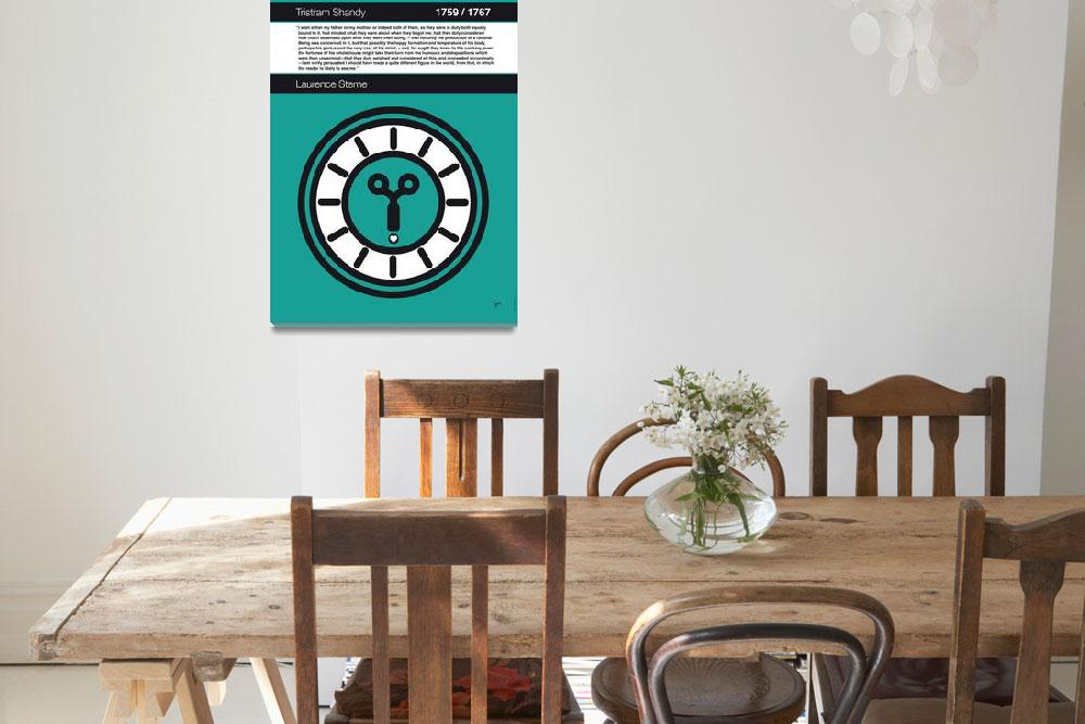 """""""No019-MY-Tristram Shandy -Book-Icon-poster&quot  by Chungkong"""