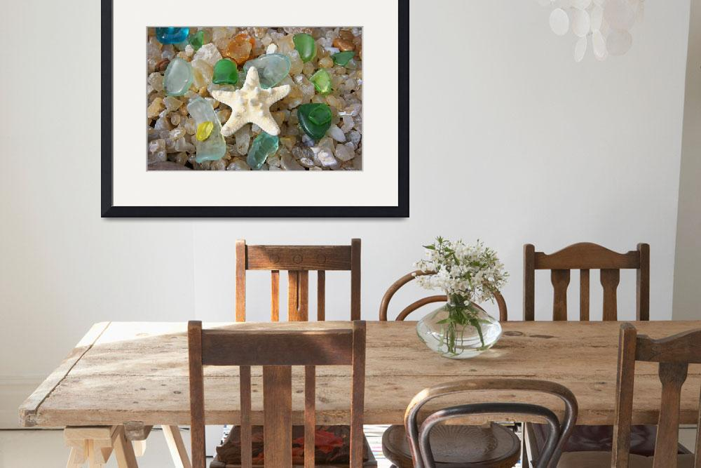 """""""Starfish Fine Art Photography Seaglass Agates&quot  (2014) by BasleeTroutman"""