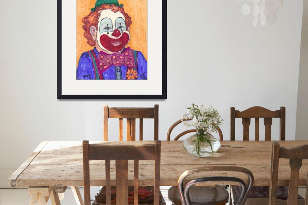 """Bobby the Clown""  (2011) by woodmaster"