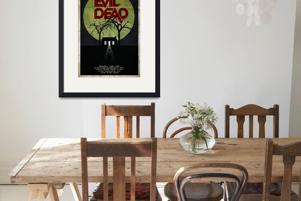 """The Evil Dead&quot  (2012) by RyanBlackDesigns"
