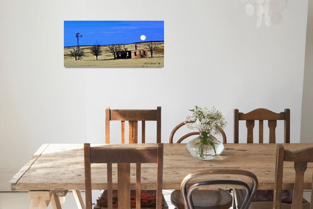 """""""Old Ranch House""""  (2019) by davegafford"""