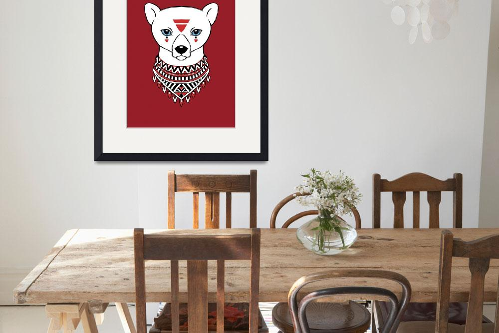 """""""Tribal Bear&quot  (2012) by freeminds"""