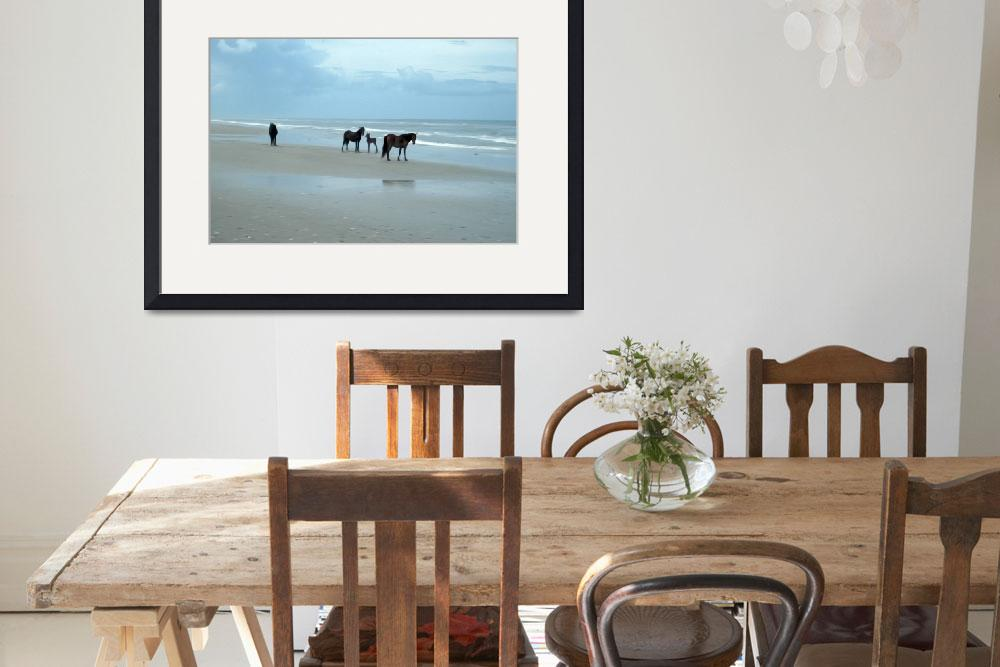 """""""OBX Horses with Young&quot  (2010) by kelvinbooker"""