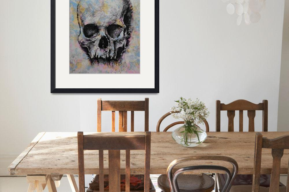 """""""Medieval Skull&quot  by creese"""