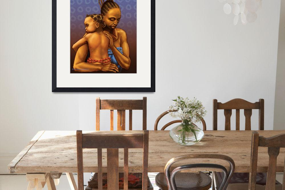 """""""Mother and Child&quot  (2007) by olusola"""