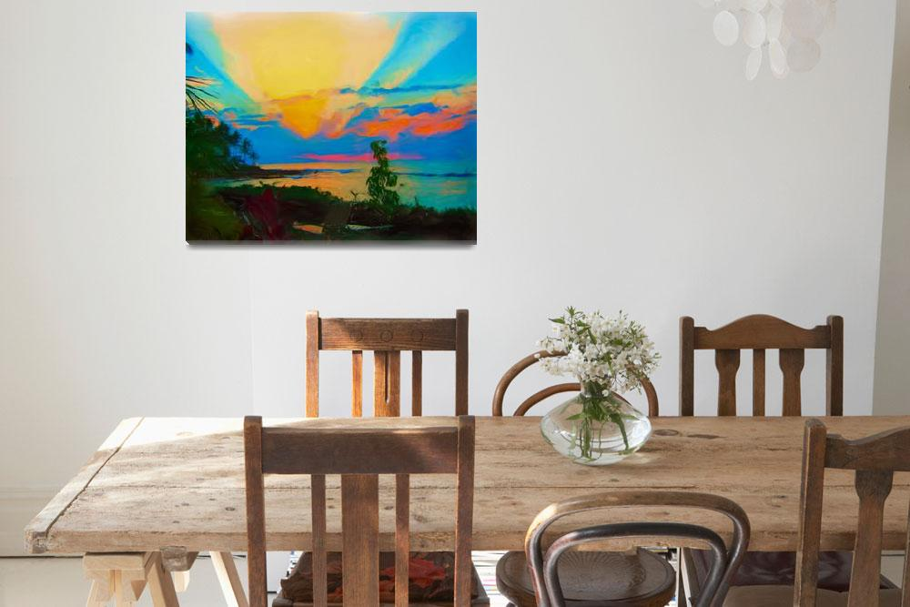 """""""Sunset in Paradise""""  (2010) by CarlaG"""