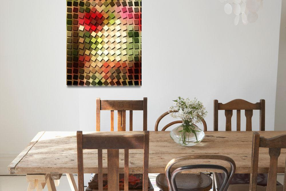 """Colorful Building Blocks""  (2014) by bonniebruno"