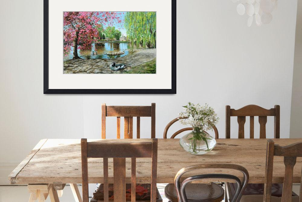 """Bakewell Bridge, Derbyshire by Trevor Neal&quot  by fineartmasters"