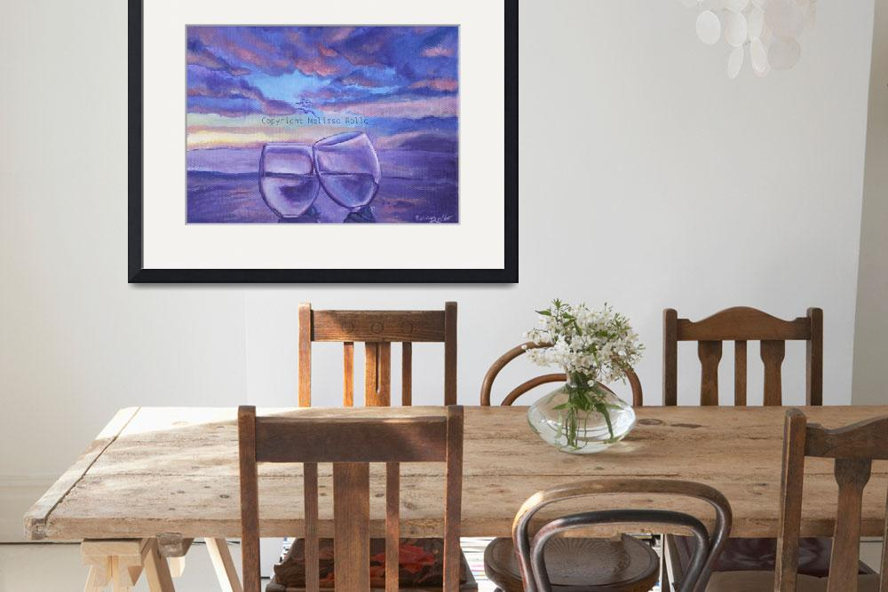 """""""Sunset Toast&quot  (2008) by Melissascreations"""