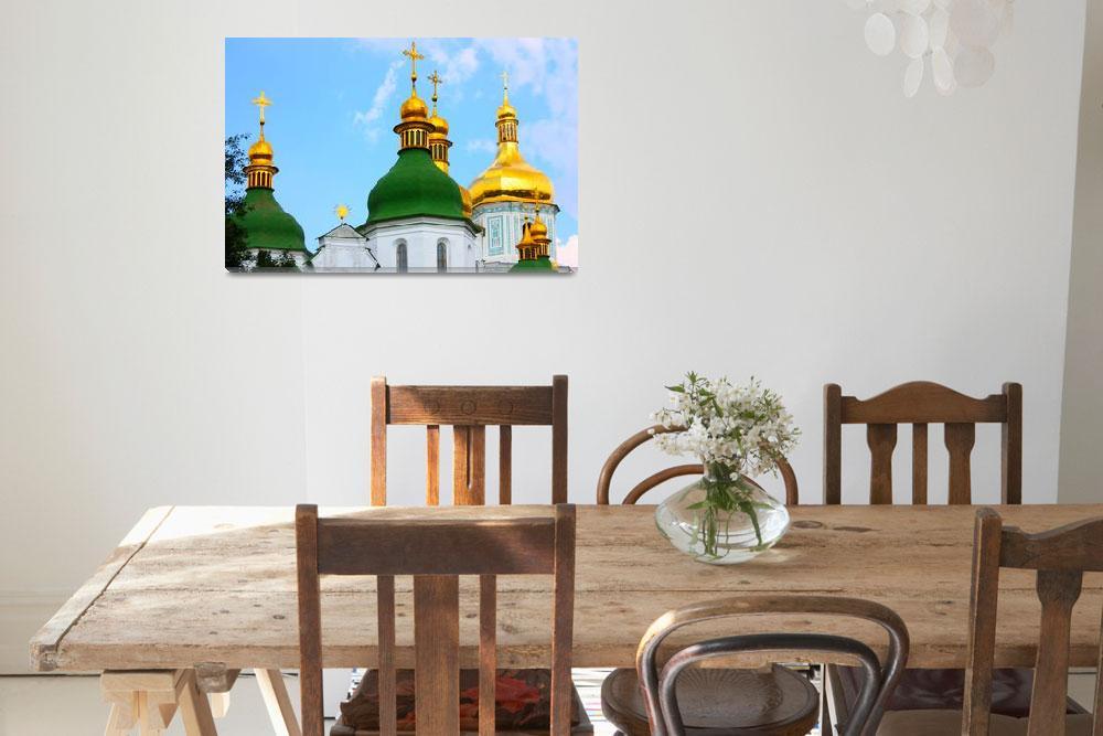 """""""St Sophia in Ukraine&quot  by a1luha"""