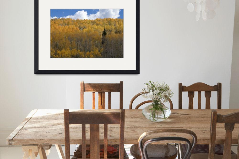 """Lone Tree Painting""  (2011) by greencricketphoto"
