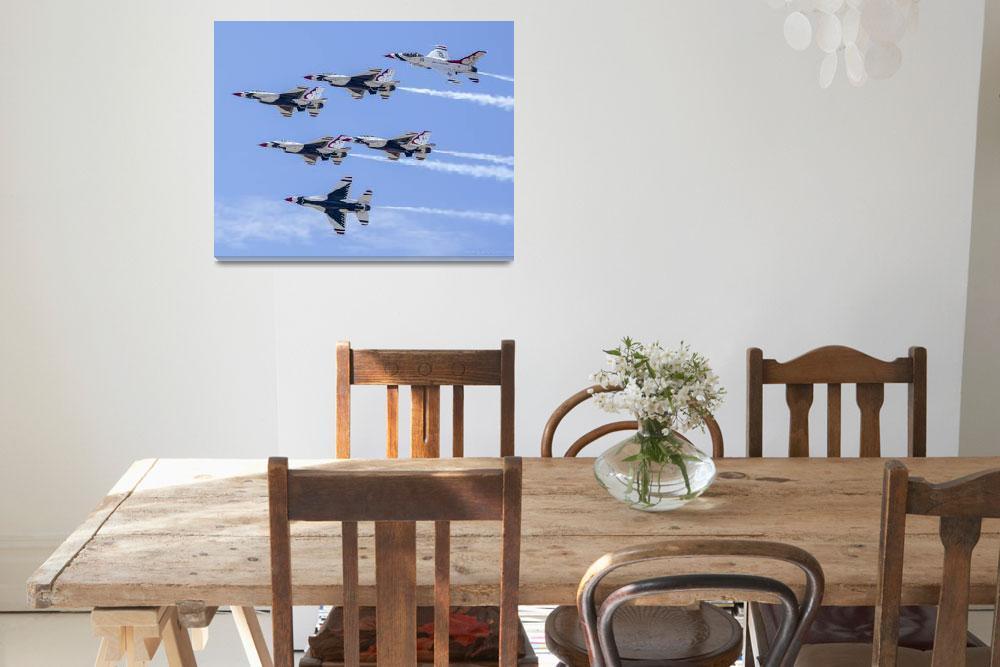 """6 Thunderbirds Break&quot  (2012) by markeloperphotography"