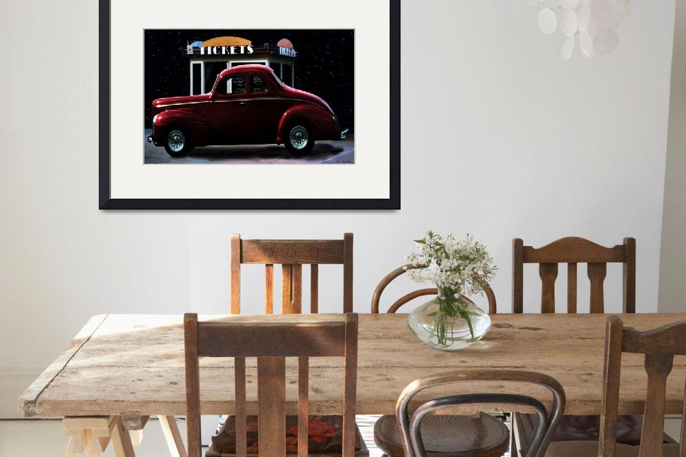 """Drive In Movie&quot  (2012) by artstoreroom"