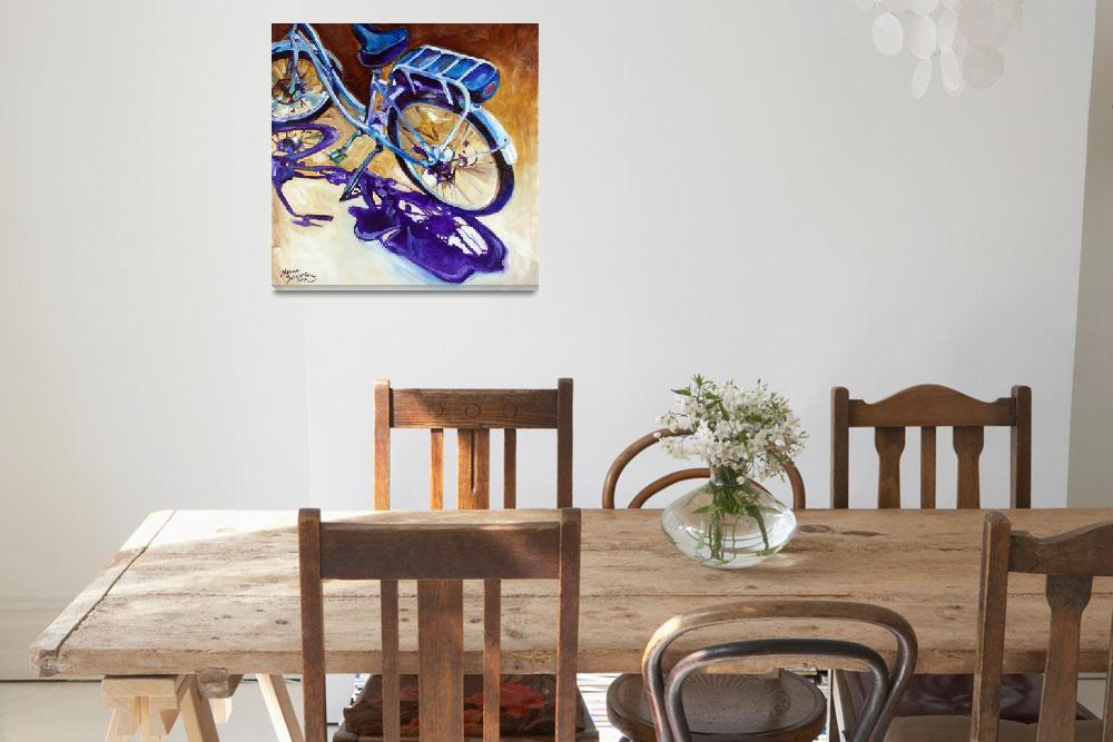 """THE CRUISER a Beloved Bike""  (2015) by MBaldwinFineArt2006"