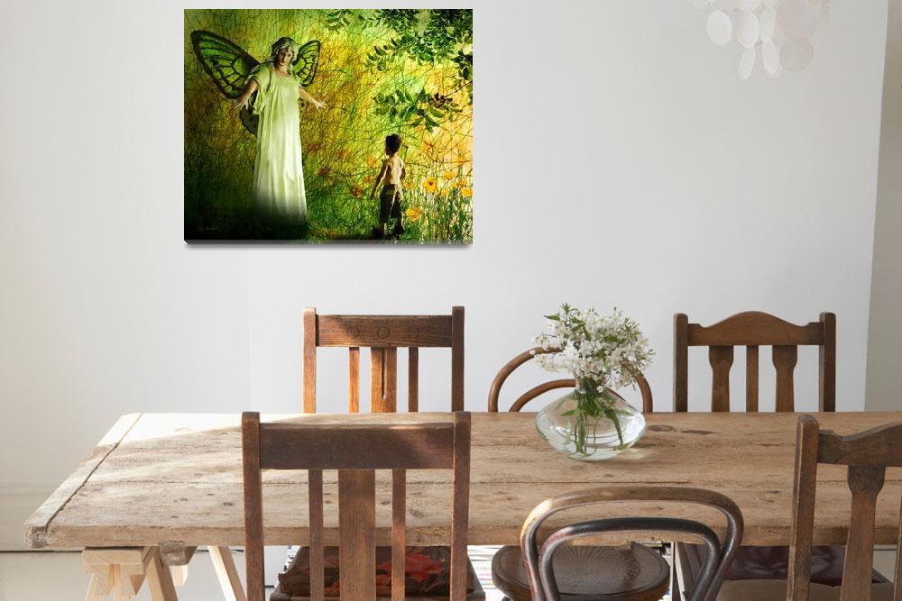 """Our Lady of the Meadow""  (2014) by Van-Renselar"