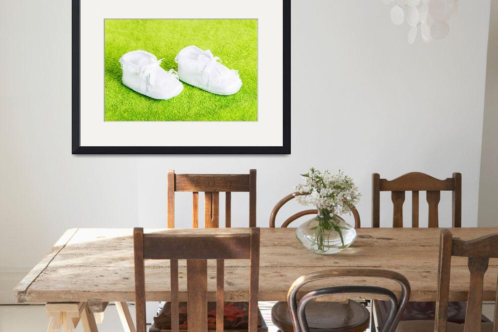 """""""White baby boots&quot  by Piotr_Marcinski"""