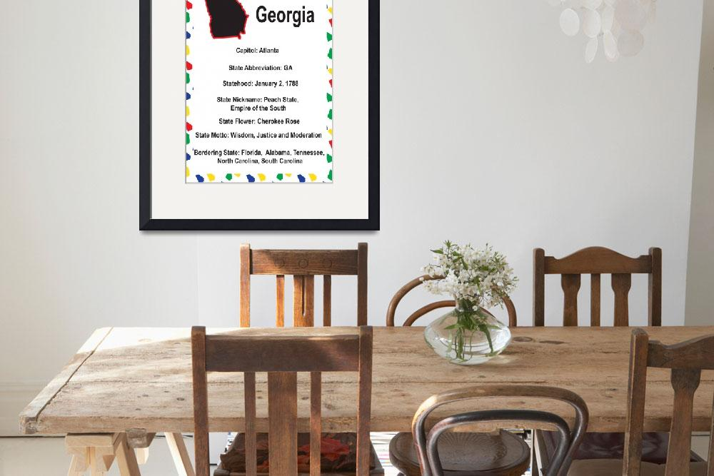 """""""Georgia Information Educational&quot  (2012) by ValeriesGallery"""
