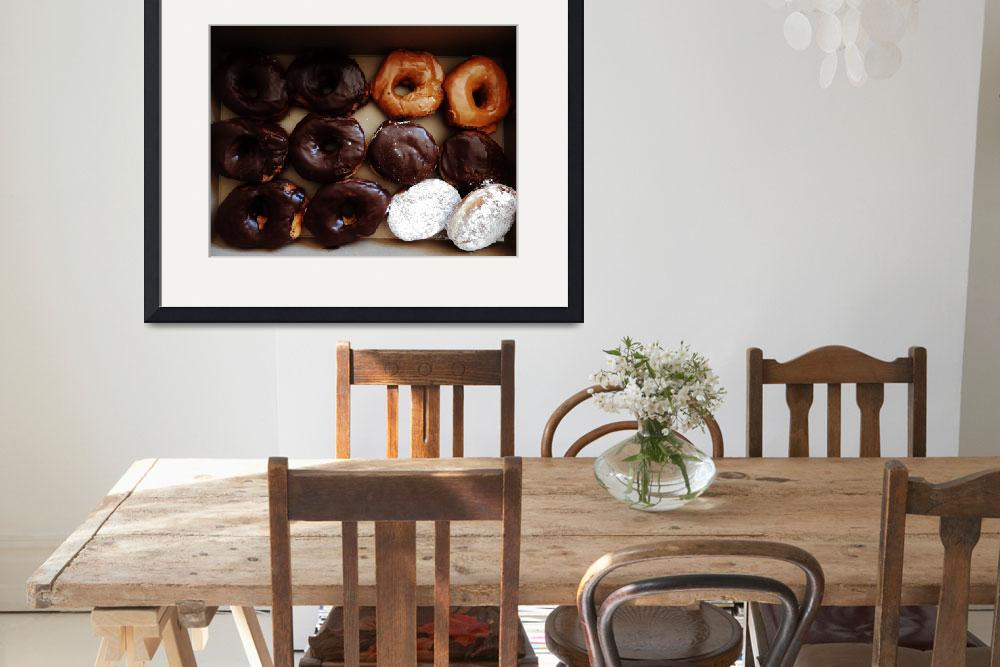 """""""Doughnut&quot  (2015) by pattifriday"""