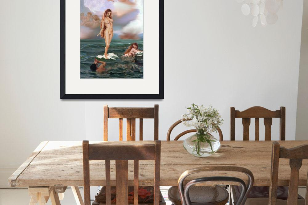 """TRADITIONAL MODERN FEMALE NUDE APHRODITE&quot  by grl"