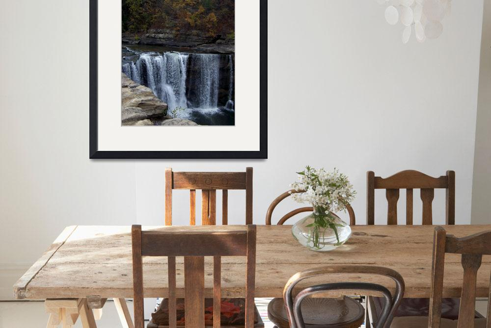 """""""Cumberland Falls&quot  (2010) by MNphtography"""