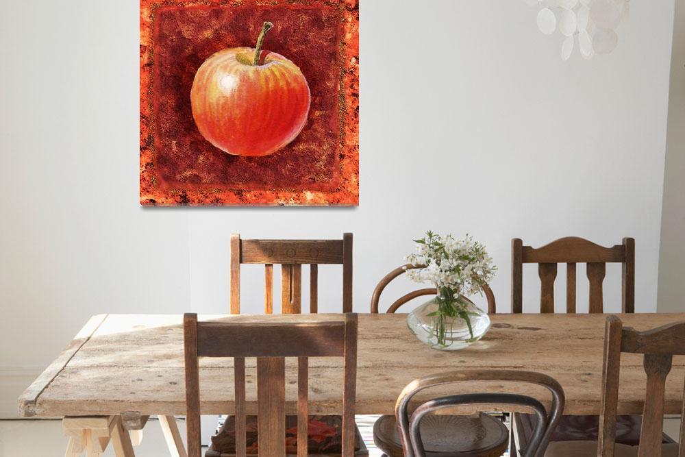 """""""Kitchen Decor Apple by Irina Sztukowski&quot  (2016) by IrinaSztukowski"""