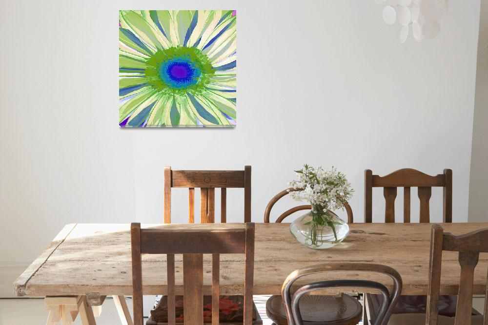 """Gerber Daisy Pop I&quot  (2009) by rickimountain"
