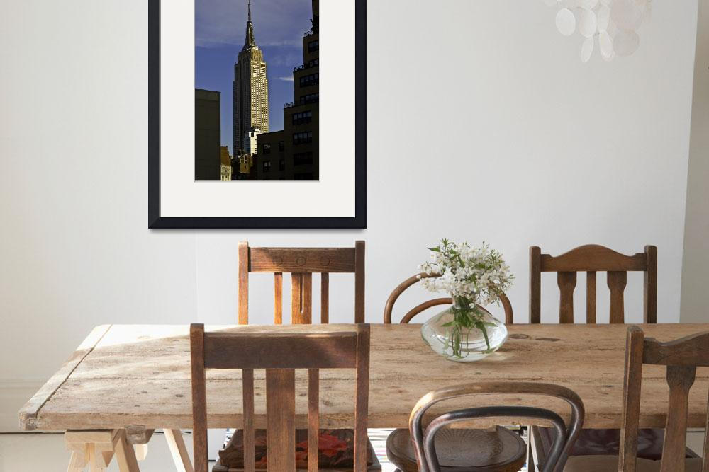 """""""The Empire State Building&quot  (2011) by joegemignani"""