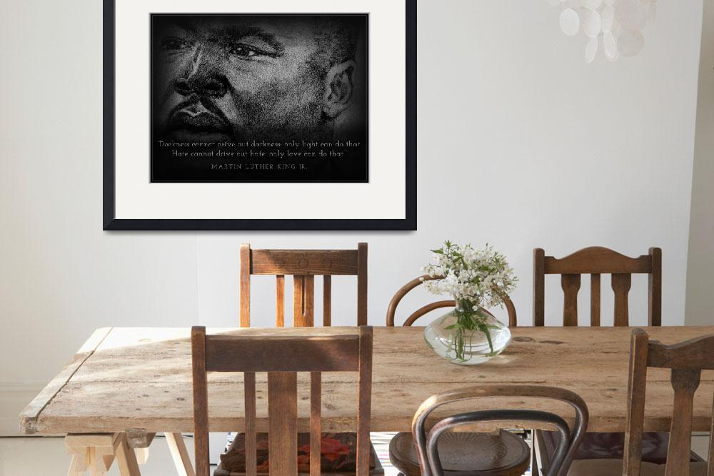 """Inspirational Portrait - Martin Luther King Jr.&quot  (2012) by CreativeArtisticNuance"