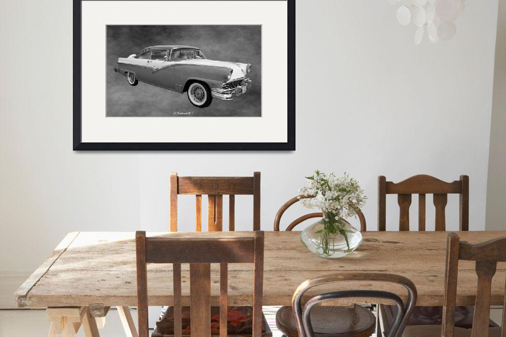 """""""1956 Ford Fairlane Victoria""""  (2011) by bettynorthcutt"""