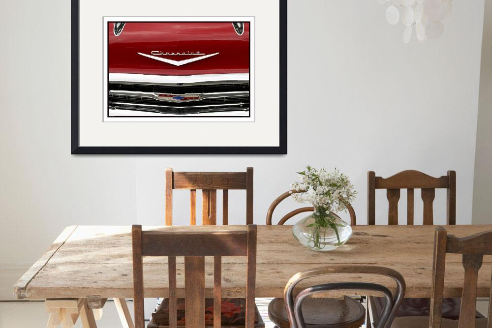 """""""Classic Car Red 07.15.07_689""""  (2007) by paulhasara"""