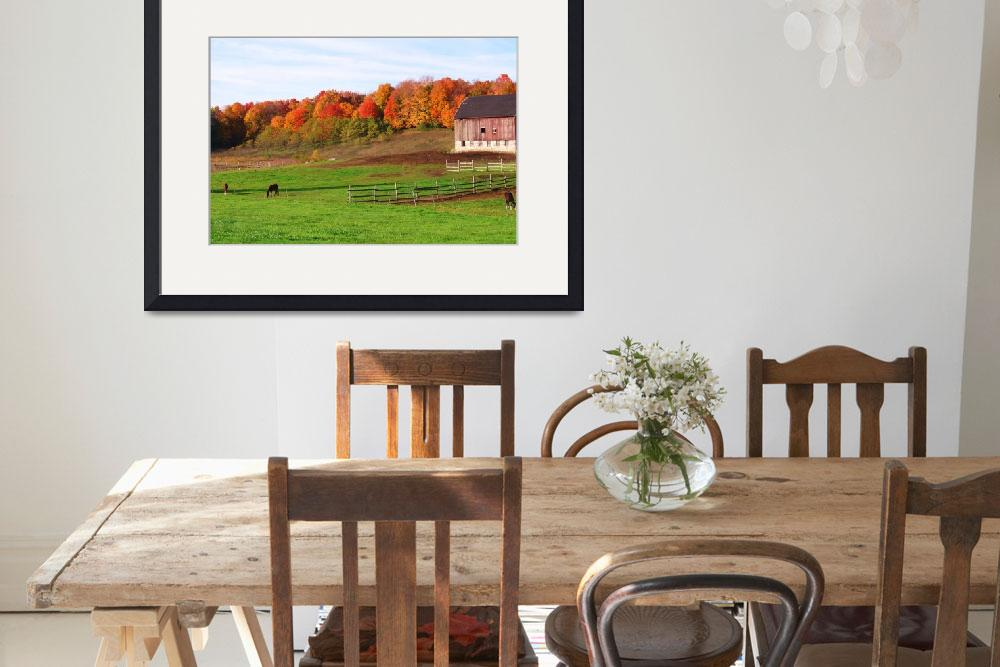 """""""Michigan Fall on the Farm&quot  (2008) by lam20"""