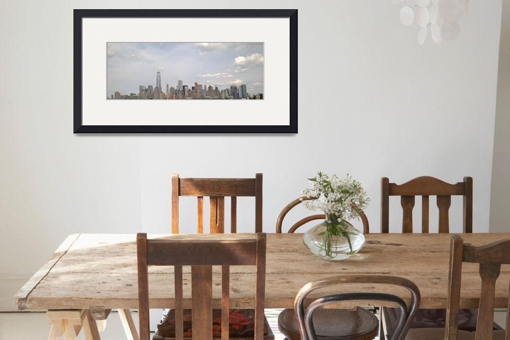 """New York City Far Aspect View""  by WishPhotography"