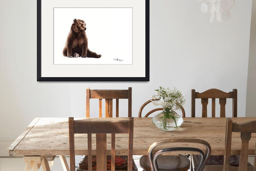 """Brown Bear&quot  (2015) by k9artgallery"