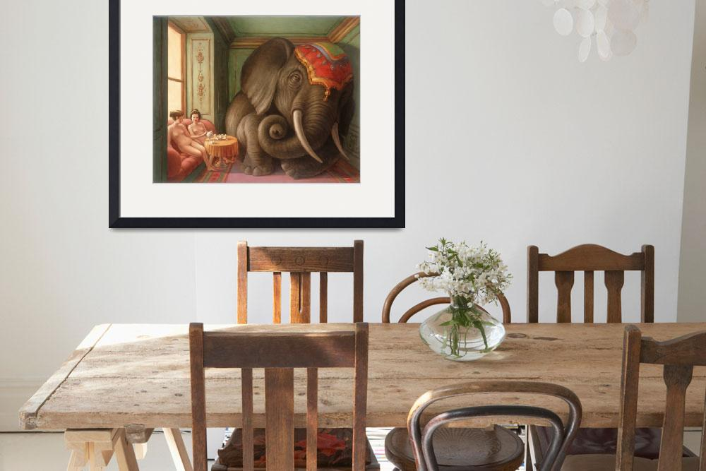 """""""Elephant in the Room&quot  (2013) by MarkBryan"""