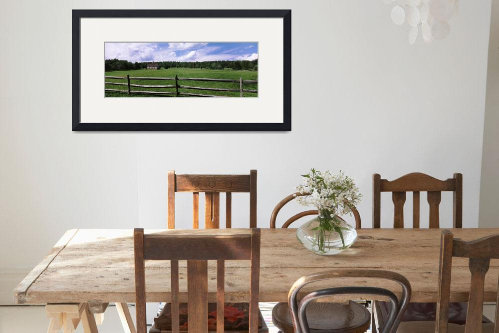 """""""Barn in a field&quot  by Panoramic_Images"""