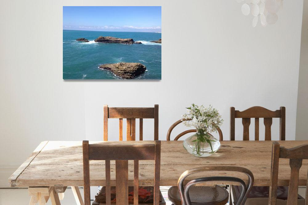 """Biarritz, France Ocean13&quot  (2012) by argaito"