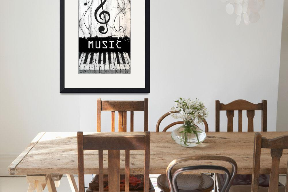 """""""Music 7 - Music In Motion&quot  by waynecantrell"""