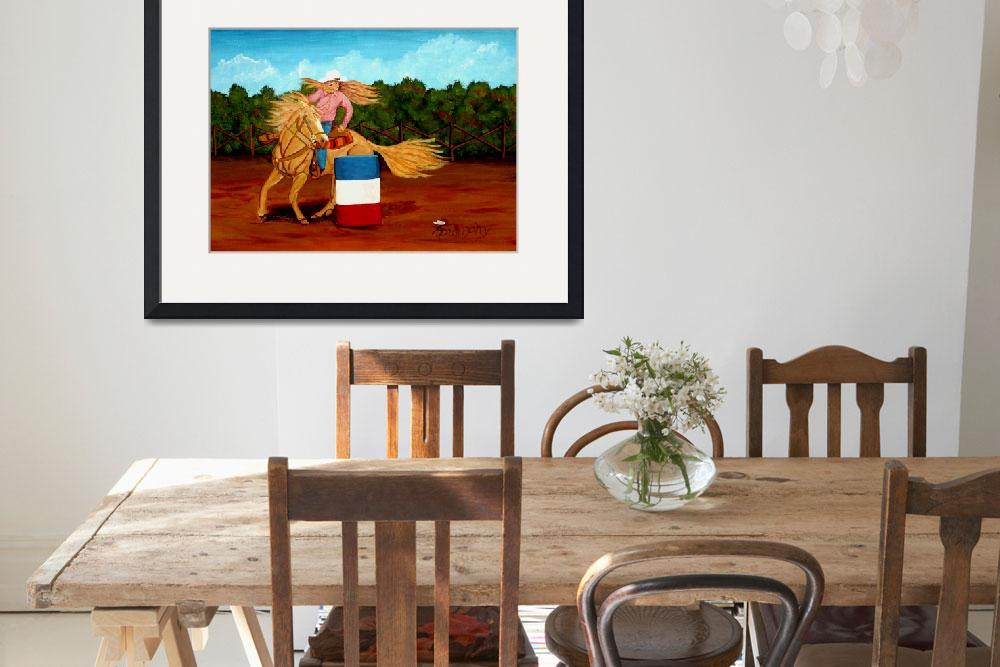 """""""Barrel Racer&quot  (2018) by anthonydunphy"""