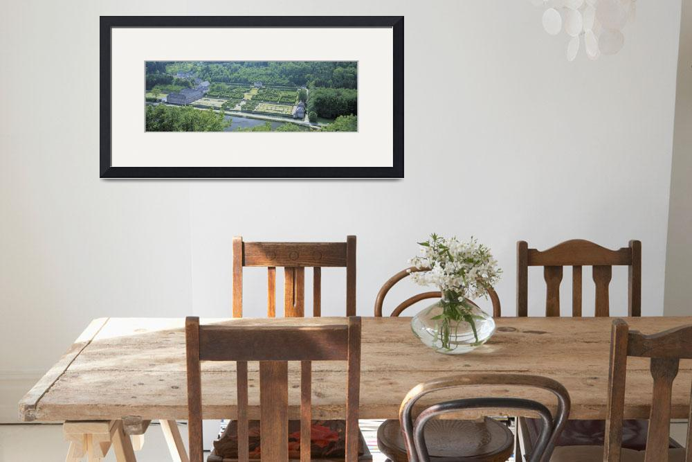 """""""""""Aerial View, Freyr Castle, Ardennes, Belgium""""&quot  by Panoramic_Images"""