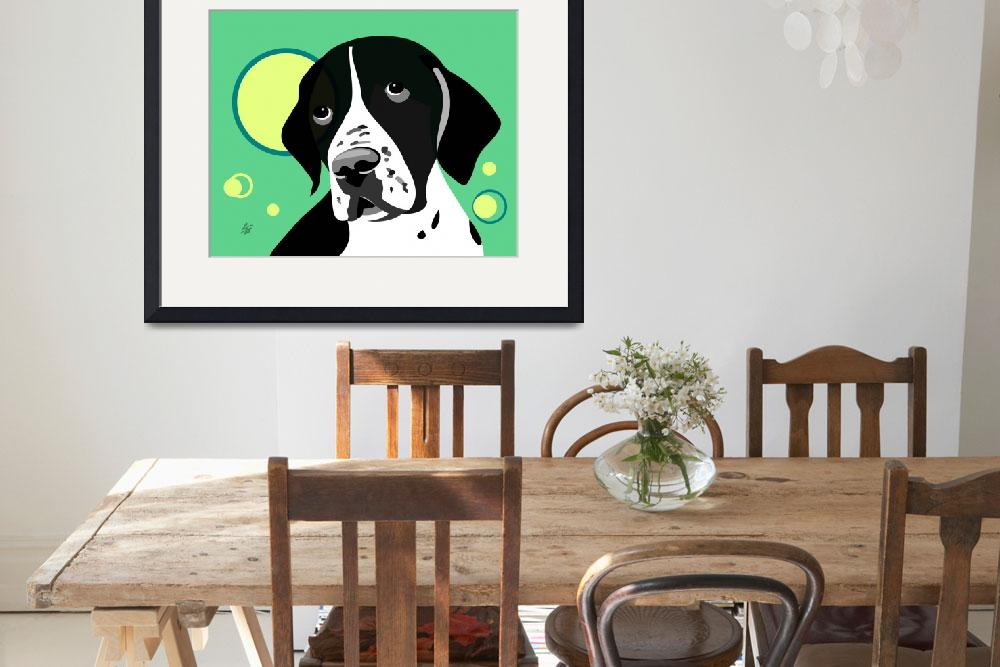 """""""Short Haired Pointer&quot  by waterart"""