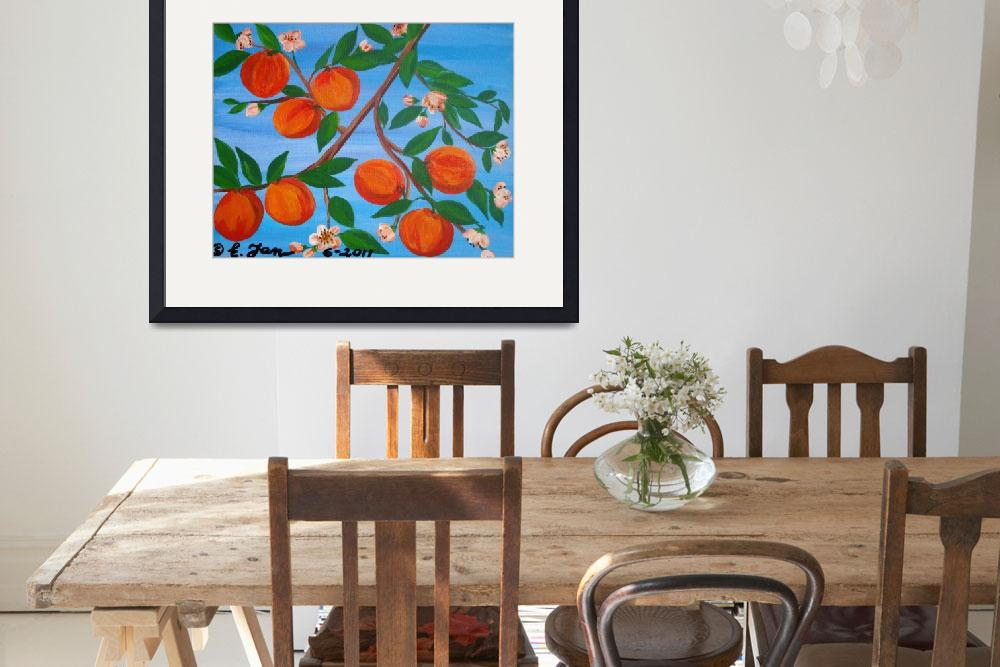 """""""8 Peaches on the branch""""  (2011) by elajanus"""