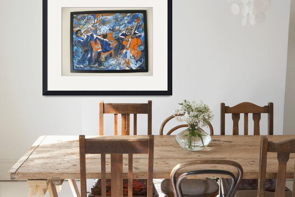 """""""jazz trio 001&quot  (2001) by groovepainter"""