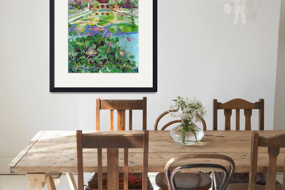 """""""Botanical building and Lily Pond in Balboa Park&quot  (2017) by RDRiccoboni"""